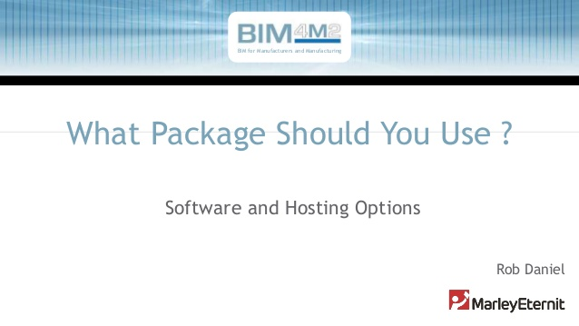 BIM software and hosting