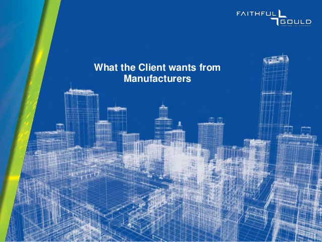 What the client wants from BIM